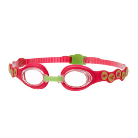 speedo Sea Squad Goggle Juniors Passion Pink/Hydro Green